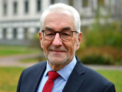 Dr. Ulrich Hörwick, Referent für Ökumene und interreligiösen Dialog (Foto Nicolas Schnall_pba)
