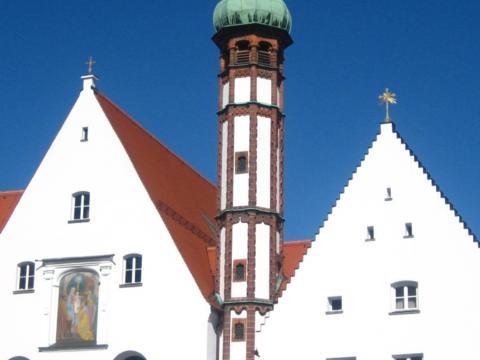 Kloster Maria Stern in Augsburg. (Foto: Sr. M. Regina Fox)