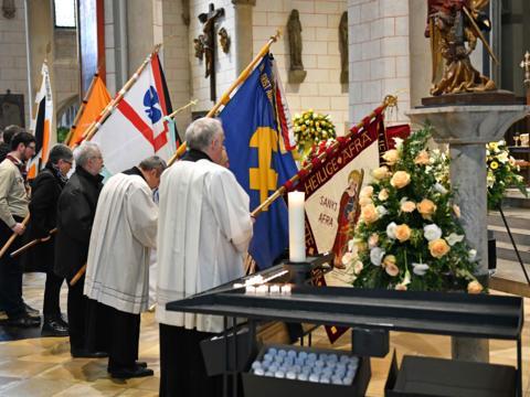 Begräbnisfeier für Bischof em Viktor Josef Dammertz (Foto Nicolas Schnall_pba) 2