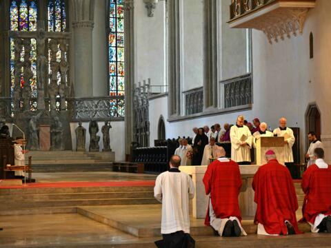 Karfreitag 2019 im Augsburger Dom (Foto Nicolas Schnall_pba) 2