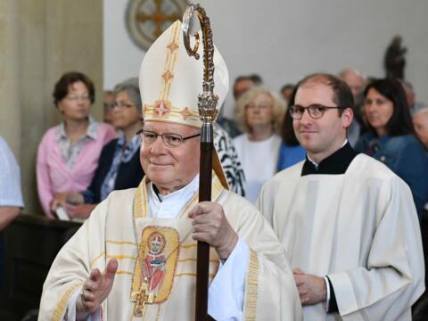 Pontifikalamt zum Ulrichsfest 2019 (Foto Nicolas Schnall_pba) 1