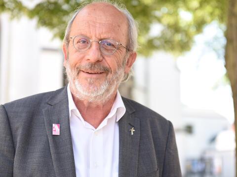 Der Diözesanpräses der KAB, Erwin Helmer, geht Ende Juli in den Ruhestand. (Foto: Maria Steber / pba)