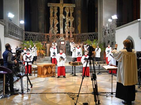 24-stündiges musikalisches Gebet im Hohen Dom (Foto Nicolas Schnall_pba) DSC_1039
