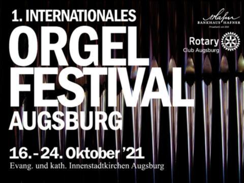 1. Internationales Orgelfestival Augsburg