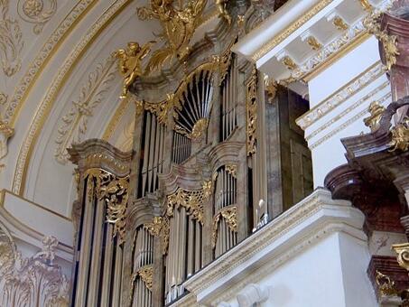 """""""Allgäuer Orgeltrias"""" in der Basilika St. Lorenz in Kempten"""