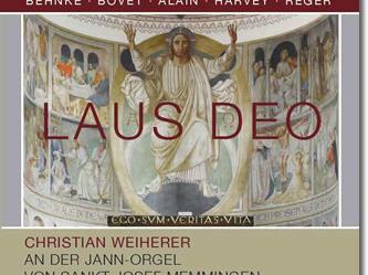 CD-Neuerscheinung: Die Jann-Orgel von St. Josef in Memmingen