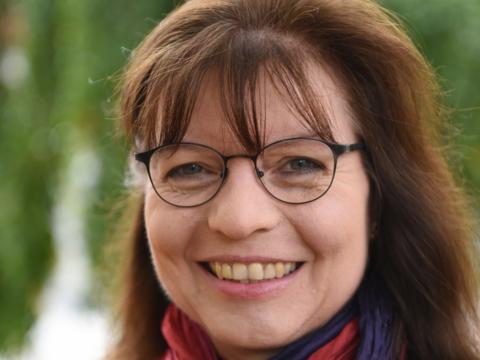 Monika Kaudewitz (Foto: Daniel Jäckel / pba)