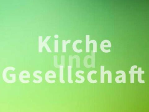 """Die Reihe """"Kirche und Gesellschaft"""", herausgegeben von der KSZ (Grafik: KSZ)"""
