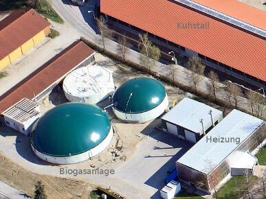 Energiezentrale mit Biogasanlage und Hackschnitzelheizung (Foto: St. Ottilien)