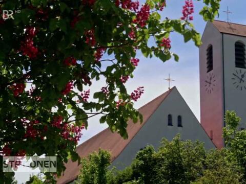 """Gibt es tatsächlich ein """"starkes Versagen der Kirchen"""", wie der Zoologe Rainer Hagencord in der Sendung meint? (Foto: BR)"""