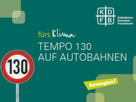 Autofahren für ein besseres Klima: Das fordert der KDFB (Foto: KDFB)
