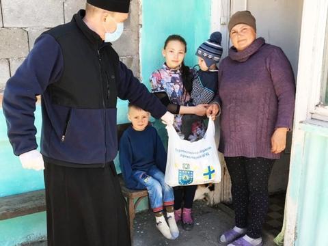 Die Diözese Ternopil in der Ukraine hilft