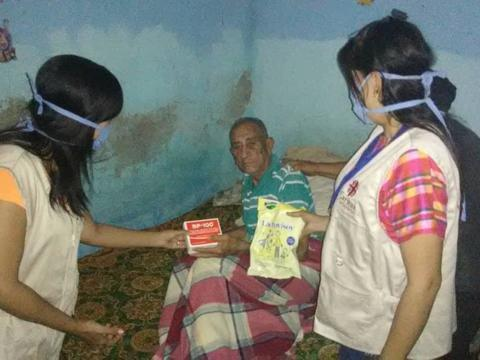 Venezuela, Caritasgruppen helfen den Menschen zuhause
