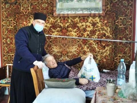 Sehr schwer von der Pandemie betroffen wurde auch die Ukraine.