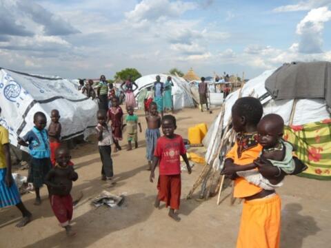 Foto: Flüchtlingslager in Juba, Salesianer Don Boscos