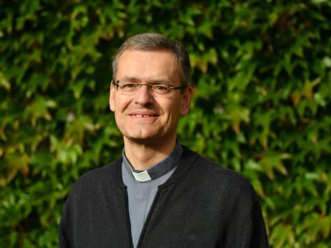 Pater Georg Gantioler FSO (Foto: Daniel Jäckel / pba)