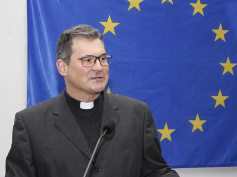 Diözesan-Caritasdirektor Domkapitular Dr. Andreas Magg. (Foto: Caritas Augsburg/Bernhard Gattner)