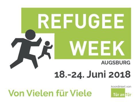 """Refugee Week in Augsburg zum """"Internationalen Tag des Flüchtlings"""""""