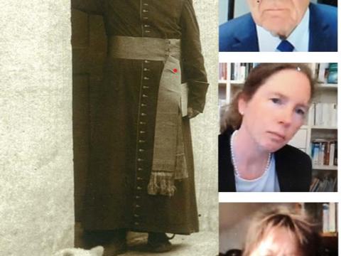 Pfarrer Sebastian Kneipp (1821-1897). Die Referenten der Tagung: Dr. Karl Pörnbacher, Dr. Cordula von der Ropp, Dr. Isabel Grimm-Stadelmann
