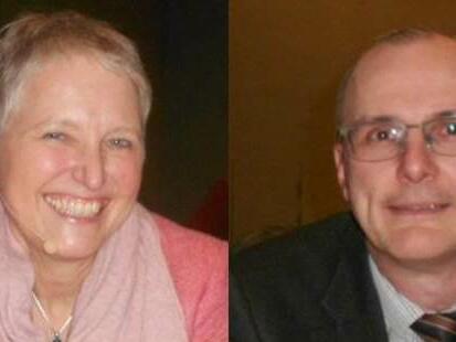 Die Referenten: Dr. Irmtaut Heitmeier und Dr. Roman Deutinger