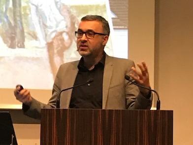 Prof. Dr. Ulrich Pfisterer, Direktor des Instituts für Kunstgeschichte LMU-München