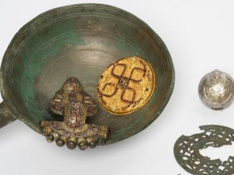 Bild: D 2020 – 1484-2 Gesamtfund Ausschnitt; Fotografin: Stefanie Friedrich. Archäologische Staatssammlung München