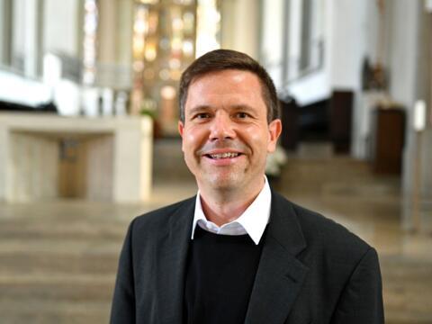 Pfarrer Peter Seidel, Personalreferent Priester (Foto Nicolas Schnall pba)