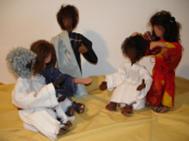 """""""Glauben ins Spiel bringen"""" - Biblische Erzählfiguren gestalten und kennenlernen"""