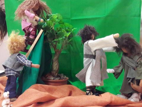 Biblische Erzählfiguren kennenlernen und gestalten