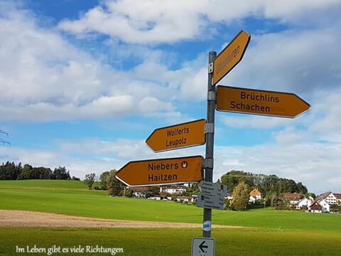 Wanderung für Trauernde ...auf dem Pfarrer-Kneipp-Weg