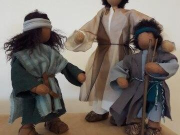 Biblische Erzählfiguren - kennen lernen und gestalten