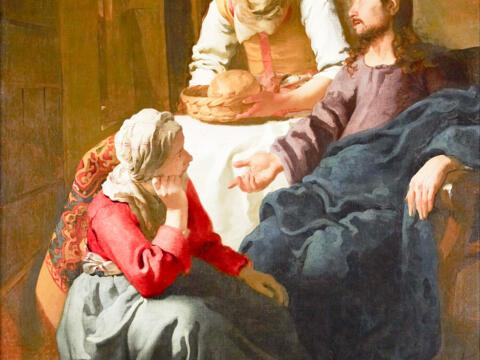 Christus bei Maria und Marta (Jan Vermeer)