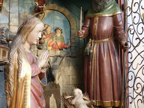 Die Heilige Familie (Augsburger Domkrippe). Foto: Dr. Peter C. Düren