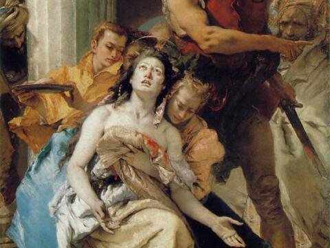 Giovanni Battista Tiepolo, Das Martyrium der heiligen Agatha, 1756, Gemäldegalerie Berlin