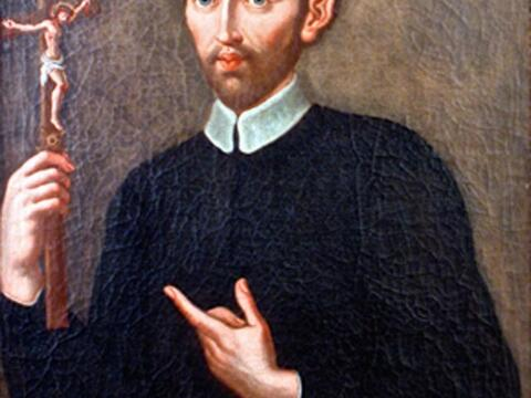 Portrait Liguoris im Kloster Nocera