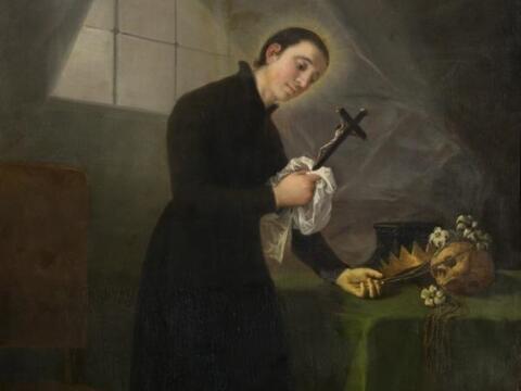 Francisco de Goya, San Luis Gonzaga, um 1798, Museo de Zaragoza