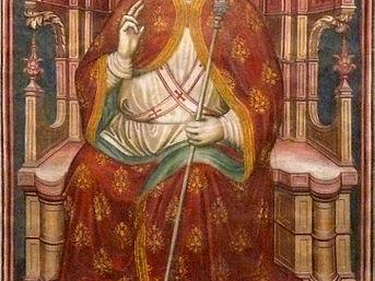 Fresko in der Basilica di San Zeno, 13. Jahrhundert. Foto: Ugo franchini at Italian Wikipedia (CC BY-SA 3.0)