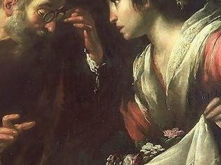 Bernardo Strozzi (1581–1644), Das Wunder der hl. Zita (Ausschnitt)