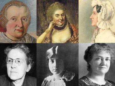 Augsburger Musikerinnen und Komponistinnen (Grafik: Susanne Wosnitzka)