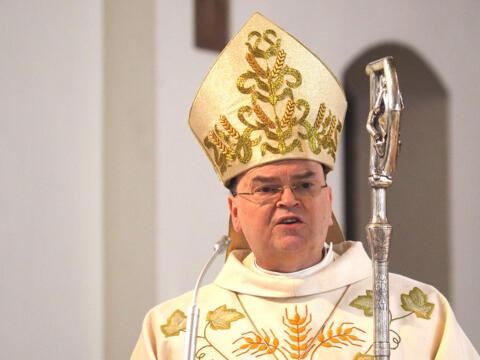 Bischof Bertram in der Tutzinger Pfarrkirche St. Joseph (Foto: Christian Binder)
