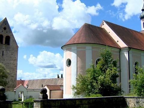 Boxbild Wallfahrtskirche Wessobrunn