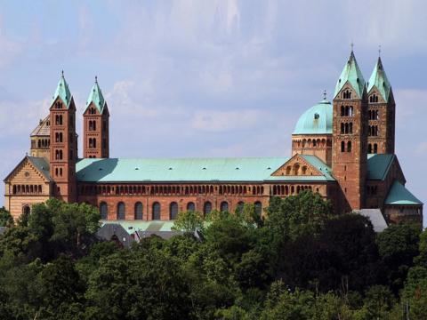 Der Dom zu Speyer ist eines der Ziele der Reise (Foto: Wikipedia)