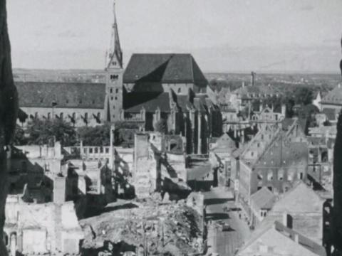Die Augsburger Bombennacht und die Rettung des Doms