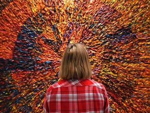 Die Sonderausstellung 'en face' im Diözesanmuseum St. Afra (Foto: Julian Schmidt / pba)