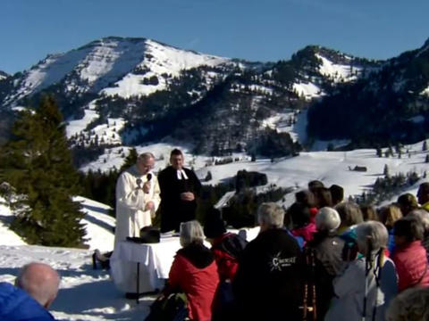 Faszination Berggottesdienst