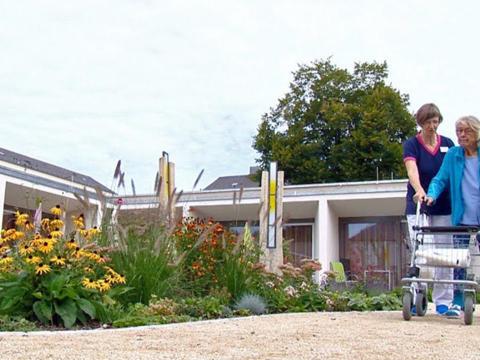 Garten für das Leben im St Vinzenz Hospiz