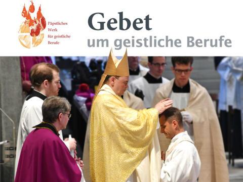 Gebet um geistliche Berufe