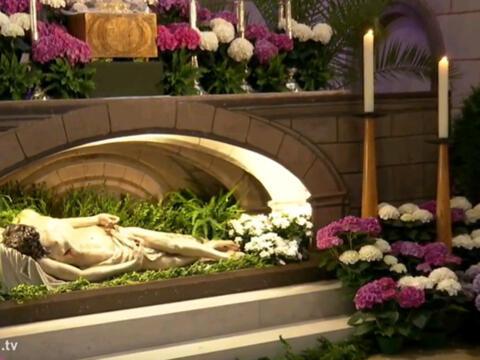 Heiliges Grab im Dom (katholisch1.tv)