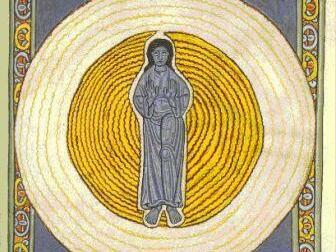 Hildegard von Bingen - In der Mitte der Mensch_klein