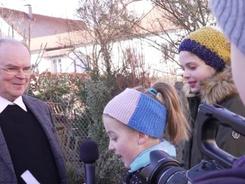 Interview: Kinderreporter treffen den neuen Bischof